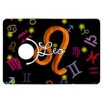 Leo Floating Zodiac Name Kindle Fire HDX Flip 360 Case