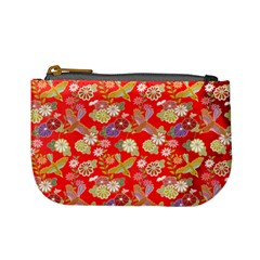 Flower By Dress 2   Mini Coin Purse   0mvgyiapzpo0   Www Artscow Com Front