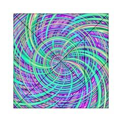 Happy Aqua Acrylic Tangram Puzzle (6  X 6 )