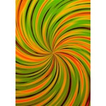 Happy Green Orange THANK YOU 3D Greeting Card (7x5)  Inside