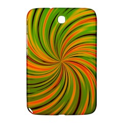 Happy Green Orange Samsung Galaxy Note 8 0 N5100 Hardshell Case  by MoreColorsinLife