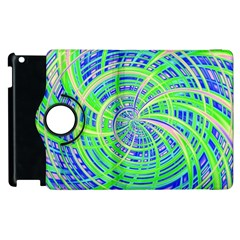 Happy Green Apple Ipad 3/4 Flip 360 Case by MoreColorsinLife