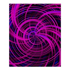Happy, Black Pink Shower Curtain 60  X 72  (medium)  by MoreColorsinLife