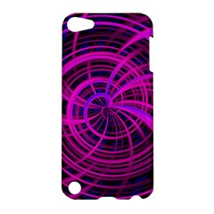 Happy, Black Pink Apple Ipod Touch 5 Hardshell Case by MoreColorsinLife