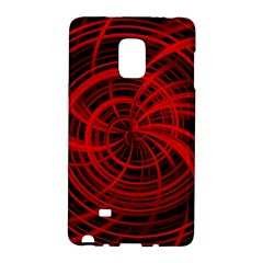 Happy, Black Red Galaxy Note Edge by MoreColorsinLife