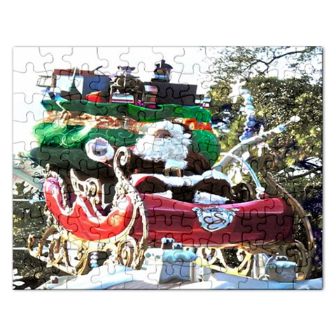 Santa Claus Puzzell   Finished By Pamela Sue Goforth   Jigsaw Puzzle (rectangular)   5h6d77dz3ptm   Www Artscow Com Front