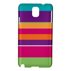 Jagged Stripes Samsung Galaxy Note 3 N9005 Hardshell Case by LalyLauraFLM