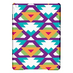 Triangles And Other Shapes Pattern Apple Ipad Air Hardshell Case by LalyLauraFLM
