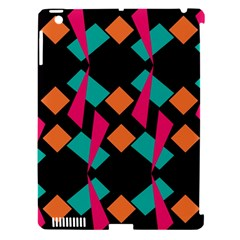 Shapes in retro colors  Apple iPad 3/4 Hardshell Case (Compatible with Smart Cover)