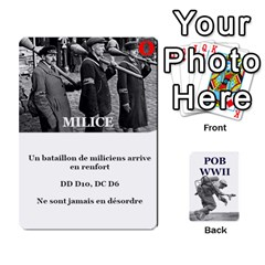 Field Of Battle Wwii By Antoine Bourguilleau   Playing Cards 54 Designs   Auo4fonvnrpe   Www Artscow Com Front - Club6