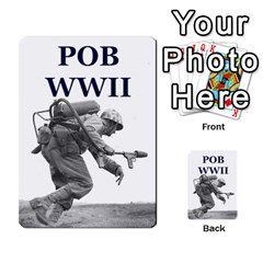 Field Of Battle Wwii By Antoine Bourguilleau   Playing Cards 54 Designs   Auo4fonvnrpe   Www Artscow Com Back