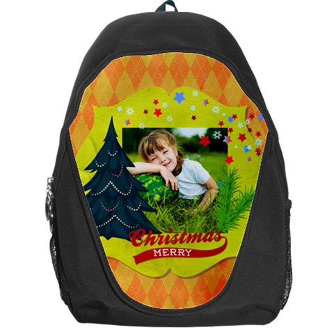 Xmas By Xmas   Backpack Bag   Prb0tv8ytr70   Www Artscow Com Front