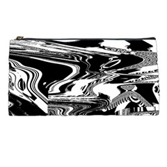 Bw Glitch 1 Pencil Cases by MoreColorsinLife