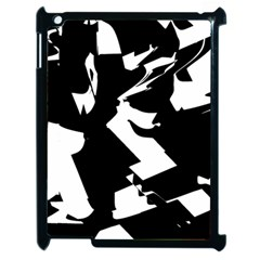 Bw Glitch 2 Apple Ipad 2 Case (black) by MoreColorsinLife