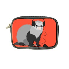 Funny Music Lover Ferret Coin Purse by CreaturesStore