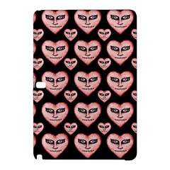 Angry Devil Hearts Seamless Pattern Samsung Galaxy Tab Pro 12 2 Hardshell Case by dflcprints