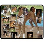 laura - xnas gift 2015 take 2 - Fleece Blanket (Medium)