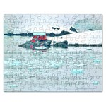 Who being loved is poor: Puzzle - Jigsaw Puzzle (Rectangular)