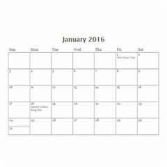 Lee By Tina   Wall Calendar 8 5  X 6    6s4oihm4aemc   Www Artscow Com Jan 2016