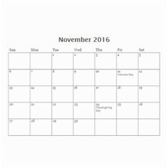 Lee By Tina   Wall Calendar 8 5  X 6    6s4oihm4aemc   Www Artscow Com Nov 2016