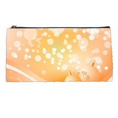 Wonderful Christmas Design With Sparkles And Christmas Balls Pencil Cases by FantasyWorld7