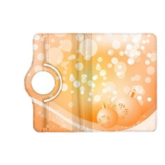 Wonderful Christmas Design With Sparkles And Christmas Balls Kindle Fire Hd (2013) Flip 360 Case by FantasyWorld7