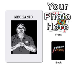 Psycho Raiders V1 By Mark Chaplin   Playing Cards 54 Designs   Jl183eqcpege   Www Artscow Com Front - Heart4