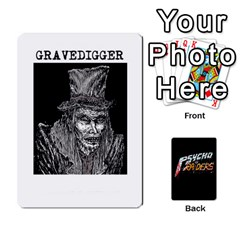 Jack Psycho Raiders V1 By Mark Chaplin   Playing Cards 54 Designs   Jl183eqcpege   Www Artscow Com Front - HeartJ