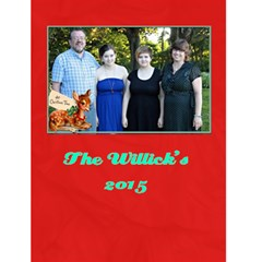 Familychristmascard By Patricia W   Greeting Card 4 5  X 6    T2e2c38agx51   Www Artscow Com Front Cover
