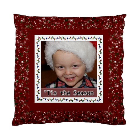 Tis The Season Cushion Case By Lil    Standard Cushion Case (one Side)   Nncsuqs0v86o   Www Artscow Com Front
