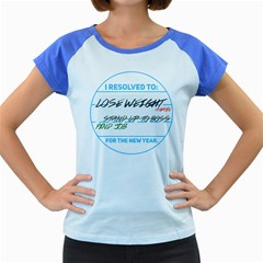 New Year Resolutions Women s Cap Sleeve T-Shirt (Colored) by typewriter