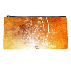 Wonderful Christmas Design With Snowflakes  Pencil Cases by FantasyWorld7