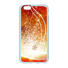 Wonderful Christmas Design With Snowflakes  Apple Seamless iPhone 6/6S Case (Color) by FantasyWorld7