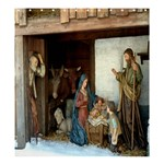 Shower Curtain;  Jeusu Christ Birth Navity - Shower Curtain 66  x 72  (Large)