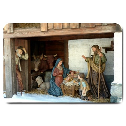 Jeusu Christ Birth : Door Mat By Pamela Sue Goforth   Large Doormat   4s4b84qg59ix   Www Artscow Com 30 x20 Door Mat - 1
