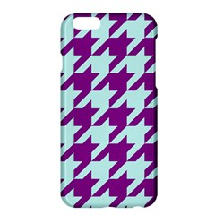 Houndstooth 2 Purple Apple Iphone 6 Plus/6s Plus Hardshell Case by MoreColorsinLife