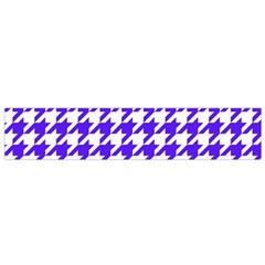 Houndstooth Blue Flano Scarf (small)  by MoreColorsinLife