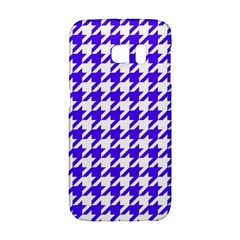 Houndstooth Blue Galaxy S6 Edge by MoreColorsinLife