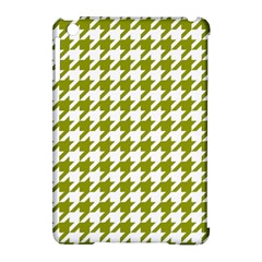 Houndstooth Green Apple Ipad Mini Hardshell Case (compatible With Smart Cover) by MoreColorsinLife