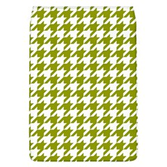 Houndstooth Green Flap Covers (L)  by MoreColorsinLife