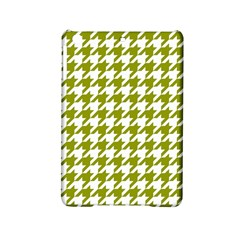 Houndstooth Green Ipad Mini 2 Hardshell Cases by MoreColorsinLife