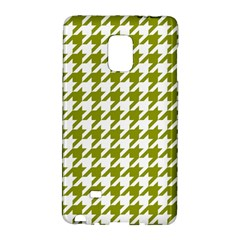 Houndstooth Green Galaxy Note Edge by MoreColorsinLife
