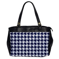 Houndstooth Midnight Office Handbags by MoreColorsinLife
