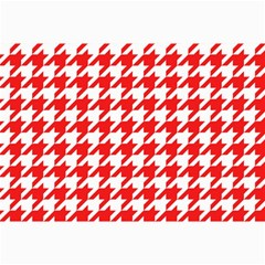 Houndstooth Red Collage 12  X 18
