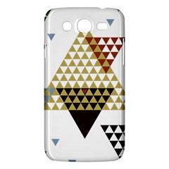 Colorful Modern Geometric Triangles Pattern Samsung Galaxy Mega 5 8 I9152 Hardshell Case  by Dushan