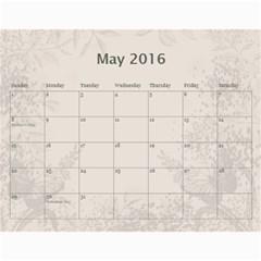 להורים שלך By Raya Baranovsky   Wall Calendar 11  X 8 5  (12 Months)   Z8dcjvr45i4t   Www Artscow Com May 2016