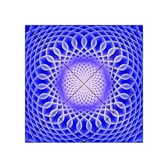 Swirling Dreams, Blue Acrylic Tangram Puzzle (4  X 4 ) by MoreColorsinLife