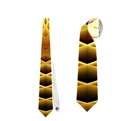 Swirling Dreams, Golden Neckties (Two Side)  by MoreColorsinLife
