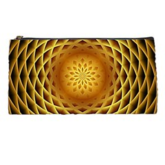 Swirling Dreams, Golden Pencil Cases by MoreColorsinLife