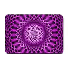 Swirling Dreams, Hot Pink Small Doormat  by MoreColorsinLife